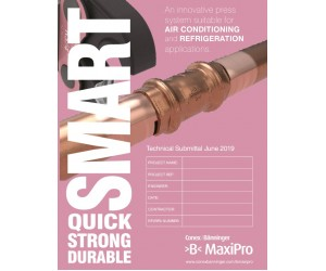 >B< MaxiPro Technical Submittal English
