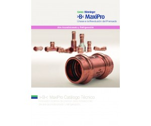 >B< MaxiPro Brochure Spanish