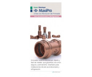 >B< MaxiPro US Spanish Sales Flyer