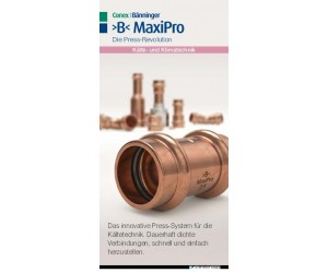 >B< MaxiPro Sales Flyer Germany