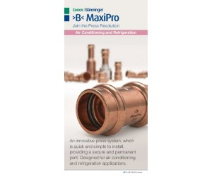 >B< MaxiPro Sales Flyer English