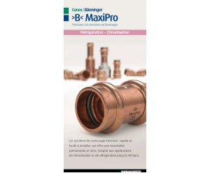 >B< MaxiPro French Sales Flyer