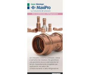 >B< MaxiPro Sales Flyer Italian