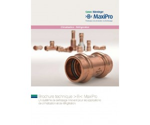 >B< MaxiPro Brochure French